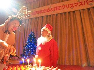 特注のクリスマスケーキ